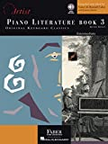 Piano Literature - Book 3: Developing Artist Original Keyboard Classics Intermediate Level (The Developing Artist…