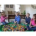 Busta-per-giocattoli-Organizzatore-con-Coulisse-Lego-Tappeto-Toocoo-Spalla-Oversize-Tappetino-Impermeabile-per-Picnic-e-Giochi-per-Neonati-Dimensioni-150cm-Verde