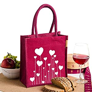 H&B Lunch Bag (LOVEGRSYWGMN_Maroon)