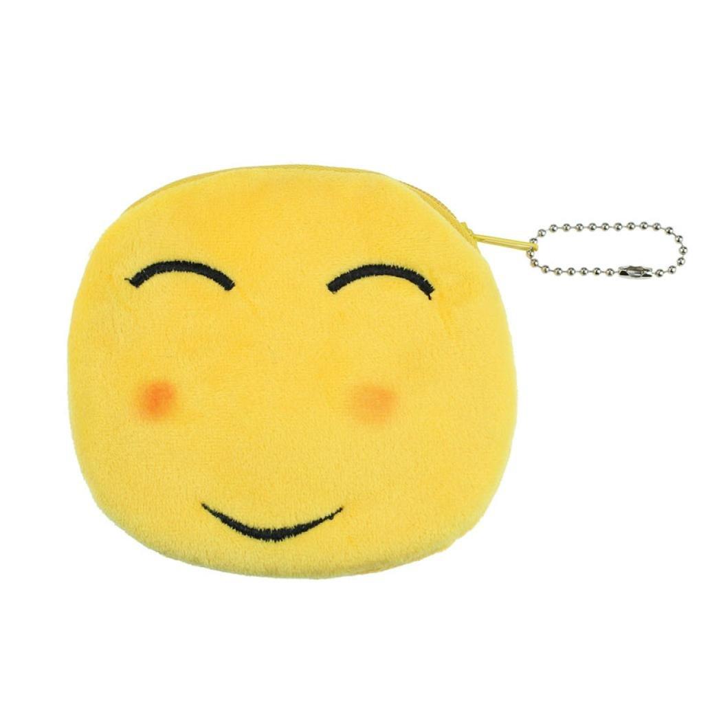 xilalu moda mujer Niña Encantadora Dama Small cartera Emoji sonrisa Monedero Bolsa Regalo, A: Amazon.es: Deportes y aire libre