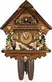 German Cuckoo Clock - Summer Meadow Chalet - BY CUCKOO-PALACE with 8-day-movement - 13 1/3 inches height