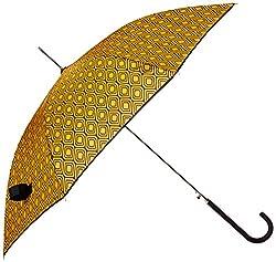 Shedrain Umbrellas Auto Stick Umbrella, Peacockblack Binding, One Size