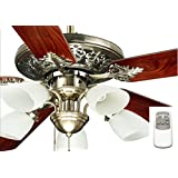 Ocean Lamp OL52016-C Immaculate Decorative Ceiling Fan W/Light& Remote Control