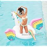Pegasus Gonfiabile e Galleggiante per Mare e Piscina. Bambini e adulti piscina gonfiabile Pegasus. Gonfiabile piscina giocattolo Pegasus di Integrity Co (multicolore)