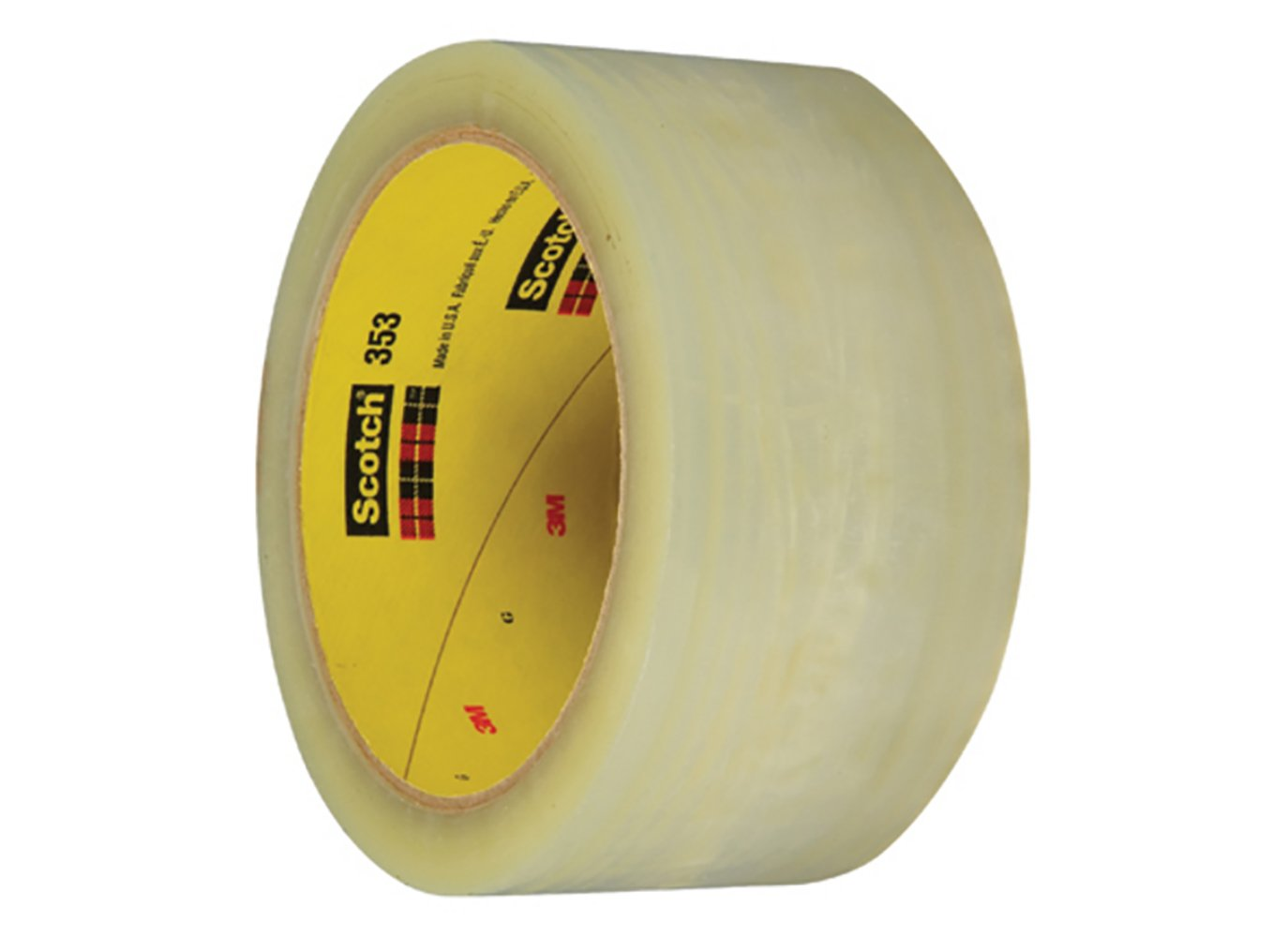 Clear Pack of 36 2 x 55 yd. 2 x 55 yd RetailSource Ltd RetailSource T901369x36 3M 369 Carton Sealing Tape