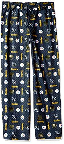 NFL Pittsburgh Steelers Unisex Sleep Pant, Black, Youth 18/20
