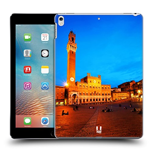 Head Case Designs Piazza Del Campo Siena Italy Famous City Squares Hard Back Case for Apple iPad Pro 10.5 (2017)