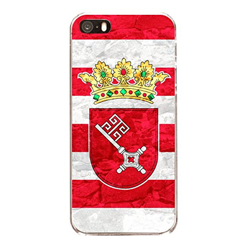"Disagu Design Case Schutzhülle für Apple iPhone 5s Hülle Cover - Motiv ""Bremen"""