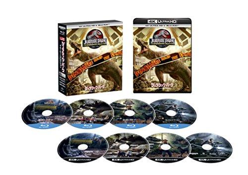 Jurassic Park 4Movie Collection (4K Ultra HD + Blu-Ray Set) [4K Ultra HD + Blu-Ray]  (Jurassic Park Blu Ray Set)