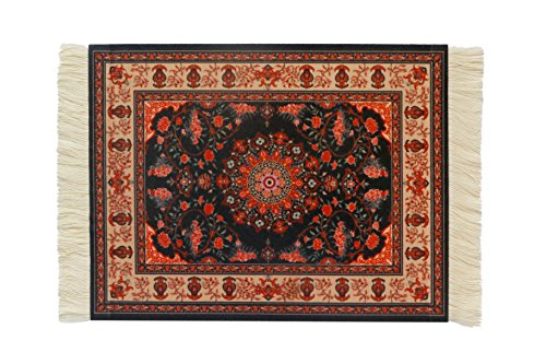 Rug Mouse Pad,Lexipad Oriental Persian Woven Mouse Mat,9.57.50.5 (CPM-92)