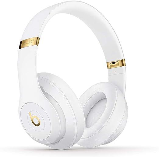 Beats Studio3 Wireless ワイヤレスノイズキャンセリングヘッドホン -Apple W1ヘッドフォンチップ、Class 1 Bluetooth、アクティブノイズキャンセリング機能、最長22時間の再生時間 - ホワイト