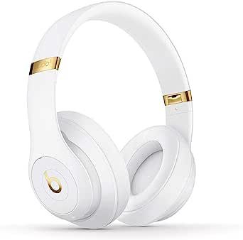 Audífonos Over-Ear BeatsStudio3Wireless con cancelación de Ruido, Chip W1 para audífonos diseñado por Apple, BluetoothClass1, cancelación de Ruido Activa, 22Horas de Audio - Blanco