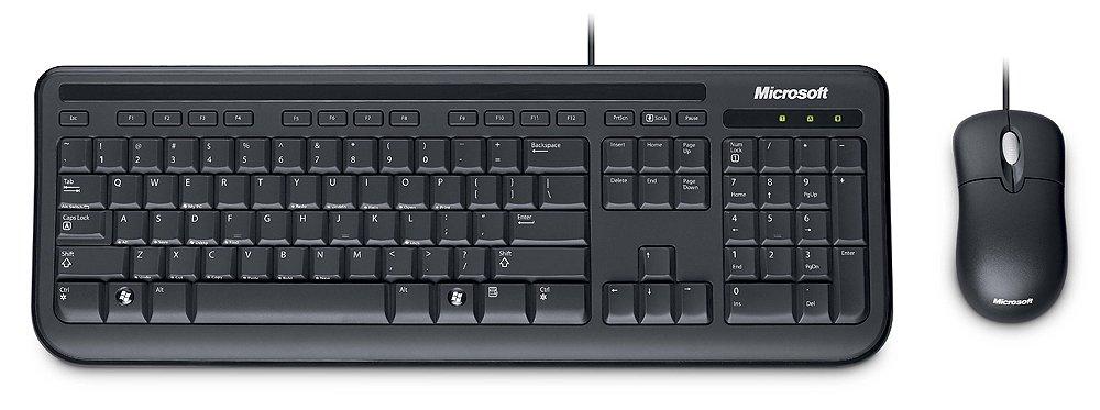 Microsoft Wired Desktop 400 f/Business - Teclado (USB, Negro, -10-40 °C, Óptico, -40-60 °C, 5-80%): Amazon.es: Informática