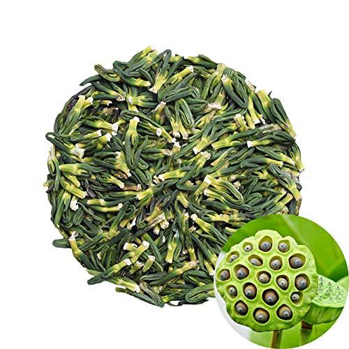 TooGet Natural Lotus Plumule Raw Lotus Heart Dried Herbs Lotus Seeds, Premium Quality - 4oz ()