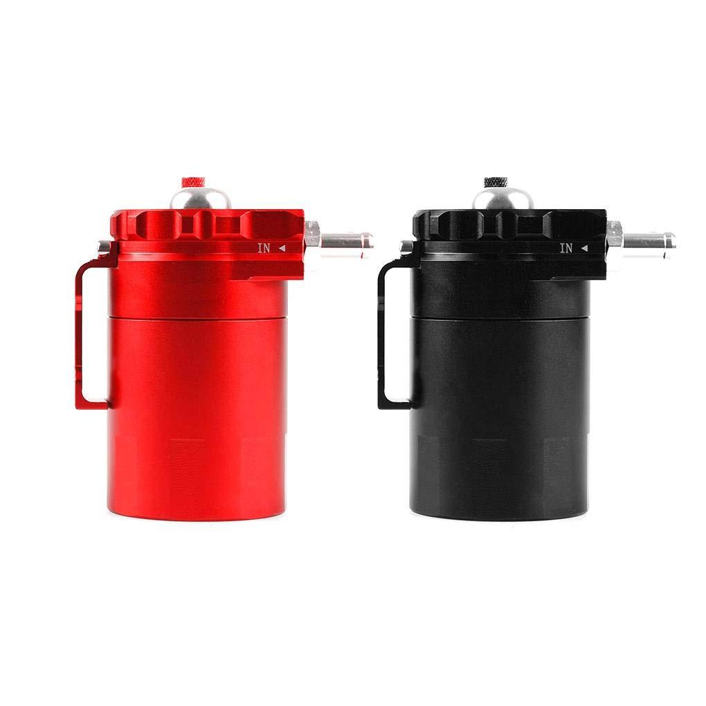 Uzinb Recoger el Aceite Universal 300ML del Motor de Coche de Respiración Puede filtrar Cilindro de aleación de Aluminio de Bricolaje Accesorios: Amazon.es: ...
