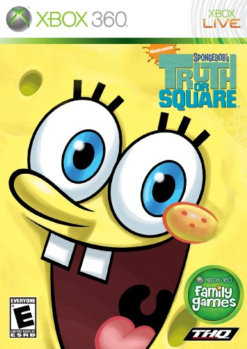 Spongebob Truth Square - Xbox 360 (Spongebob Video Games Xbox)