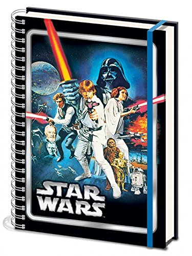 (Star Wars Notebook College Block - Episode IV, A New Hope (12 x 8 inches))