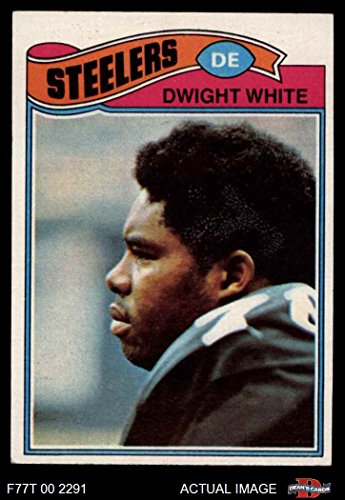 1977 Topps # 75 Dwight White Pittsburgh Steelers (Football Card) Dean's Cards 5 - EX Steelers -