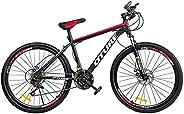 Oture 26 Inch Mountain Bike, 21 Speed Bicycle Front Suspension Men or Women Lightweight MTB
