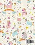 Unicorn Sketchbook 200 pages: Cute Unicorn Kawaii
