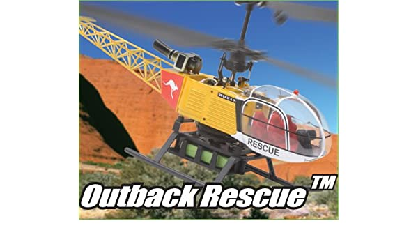 Amazoncom Venom Air Corps Outback Rescue Electric Rtf Rc