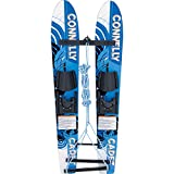 CWB Connelly Cadet Combo Waterskis Pair with Slide Adjustable Bindings, 2016