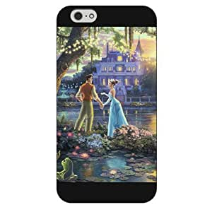 Diy White Hard Plastic Disney Sleeping Beauty Maleficent For Ipod Touch 4 Cover Case, Only fit For Ipod Touch 4 Cover ""