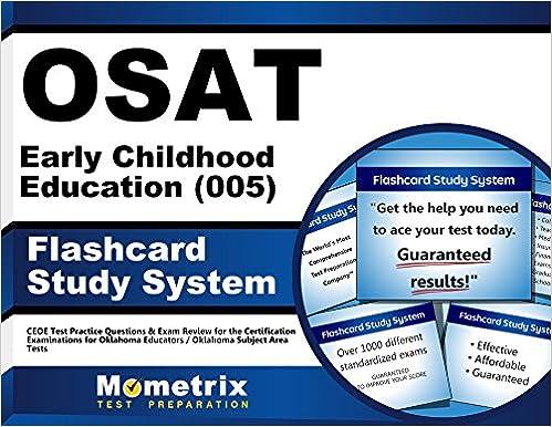 Osat Early Childhood Education 005 Flashcard Study System Ceoe