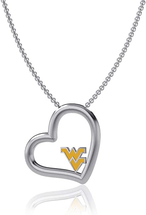 925 Sterling Silver Officially Licensed Virginia Tech Small Pendant with Necklace