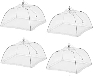 "Sweepstakes: (4 Pack) Pop-Up 17″ x 17"" Mesh Food Cover…"