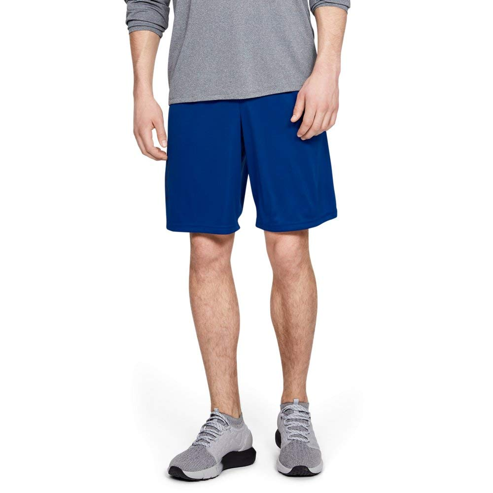 Under Armour Mens Tech Graphic Shorts, Royal (400)/Academy, Small