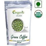 Perennial Lifesciences 100% Pure Organic Green Coffee Beans (Decaffeinated & Unroasted) (500gm)