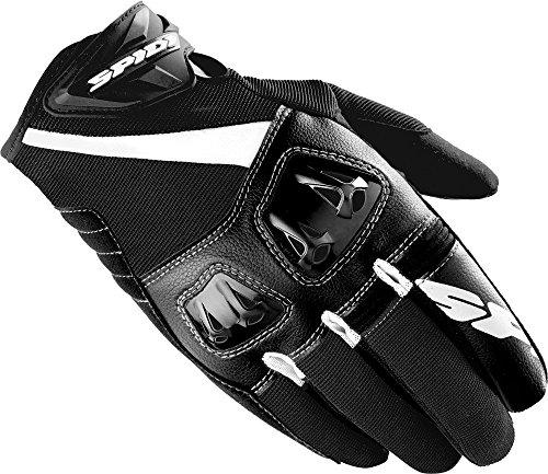 Spidi Gloves - SPIDI Flash-R Gloves, Distinct Name: Black/White, Gender: Mens/Unisex, Size: 3XL, Primary Color: Black