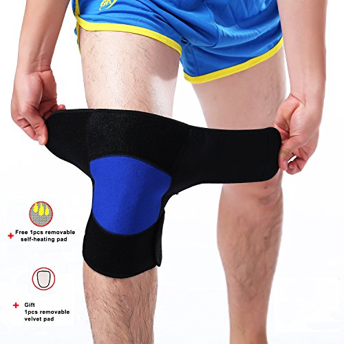 Tourmaline Spontaneous Self Heating Magnetic Therapy Knee Pad - 3