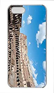Colosseum Personality Silicon Rubber Luxury Cover Case For iphone 6 5.5 plus iphone 6 5.5 plus (Black & White) By ALL MY DREAMS!!