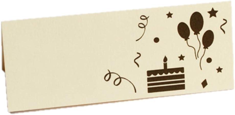 Anniversario Matrimonio Lotto.Lotto Di 10 Marche Posto Scheda Di Tavolo Tema Buon Compleanno