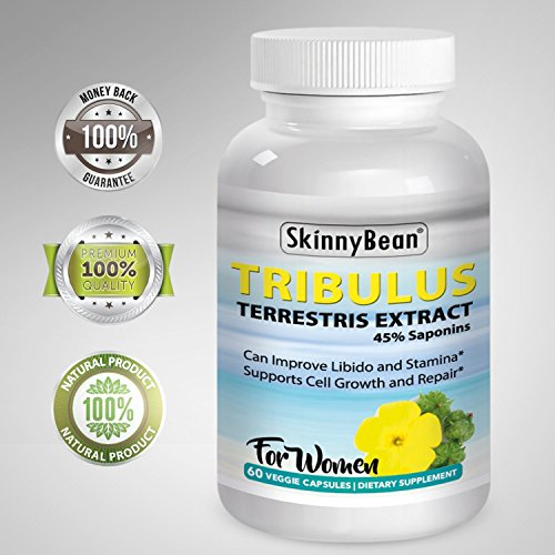 SkinnyBean® Tribulus Terrestris Extract ,Sexual Enhancer pill for Women , Female Libido Enhancer Used for Sex Drive and as a Natural Aphrodisiac