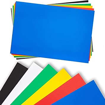 foam boards for signs craft poster board in 6 colors 20 x 30 inches 12 pack