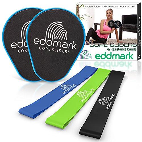 1d34ffa09f522 EddMark Professional Core Exercise Sliders - Dual Sided Gliding ...
