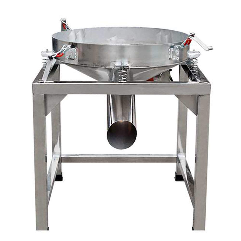 Automatic Sifter Shaker Machine 300W Grid Design Food Processing Electric 110V Electric Stainless Steel Vibration Sieve Machine 300w Shaker Machine by Gdrasuya