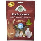 Oxbow Simple Rewards Baked Treats - Peppermint - 2 oz
