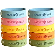 LovelyHomeShop Mosquito Repellent Bracelets 10pcs, 100% All Natural Plant-Based Oil Mosquito Bands, Non-Toxic Travel Insect Repellent, Soft Material Kids & Adults, Keeps Insects & Bugs Away