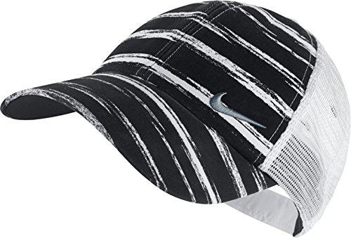 Nike Womens Stripe Mesh Cap - Black