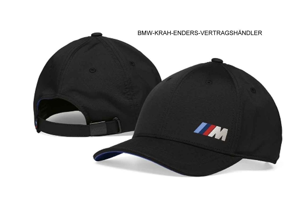 BMW 80162454739 BMW M Collection Cap M Adjustable Band BMW M Stripe