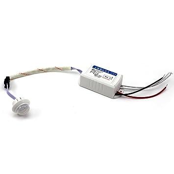 HuntGold módulo de infrarrojos IR Sensor Cuerpo Inteligente Auto Luz Interruptor De Sensor De Movimiento