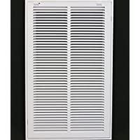 14 x 25 RETURN FILTER GRILLE - Easy Air FLow - Flat Stamped Face by Metal-Fab/Air-Craft