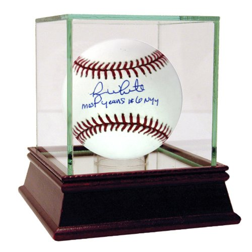 MLB New York Yankees Roy White Signed Baseball with Most Years #6 NYY Inscribed