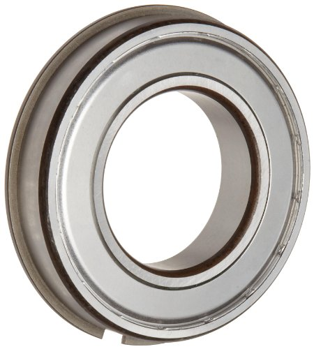 Timken 206KDDG Ball Bearing, Double Shielded, With Snap Ring, Metric, 30 mm ID, 62 mm OD, 16 mm Width, Max RPM, 2550 lbs Static Load Capacity, 5000 lbs Dynamic Load Capacity