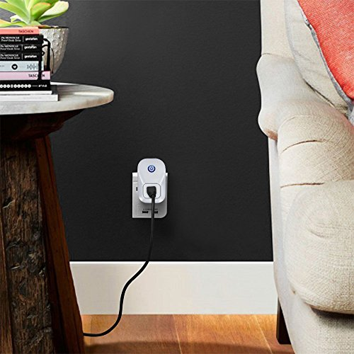 Alexa Smart Plug Wi-Fi Kaito No Hub Required Wireless Timing Smart Socket Remote Control your Devices for Smart Home Compatible with Alexa Echo Dot, Echo Tape and Amazon Echo, KA402 by Kaito (Image #6)