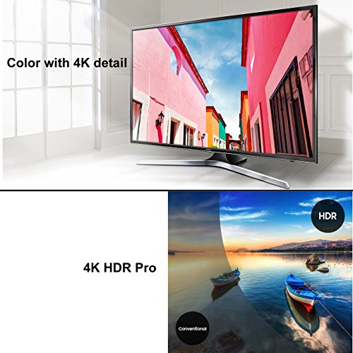"""Samsung Electronics UN40MU6290 40"""" Inch HDR 4K Ultra HD Smart LED TV + Fotolux TV Wall Mount Tilting Bracket + Remote Control + Component Cables + Xtech HDMI Cable + HeroFiber Gentle Cleaning Cloth by HeroFiber (Image #3)"""